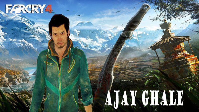 Gta San Andreas Ajay Ghale Far Cry 4 Mod Gtainside Com