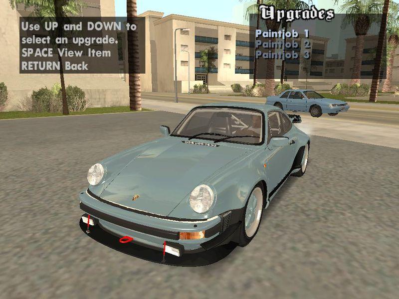 Gta San Andreas 1982 Porsche 911 Turbo 33 Coupe 930 Tunable Mod