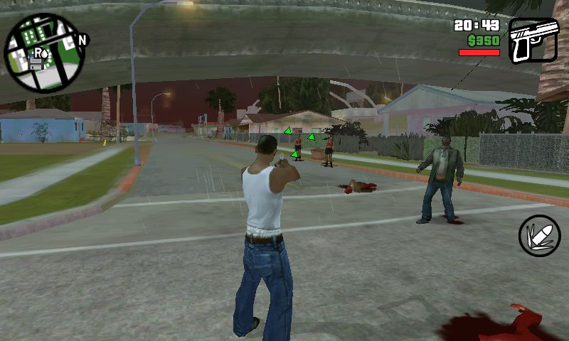 GTA San Andreas Zombie Mod for GTA SA Android v0.1 Mod - GTAinside.com