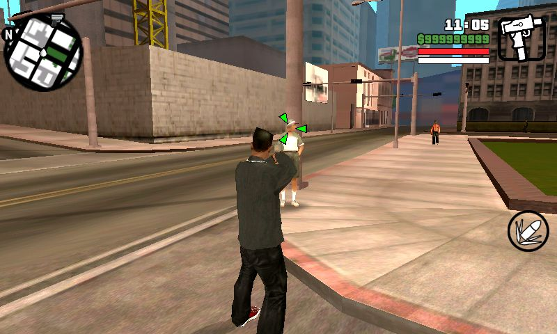 GTA San Andreas GTA IV Animation and Weapon wielding + stats