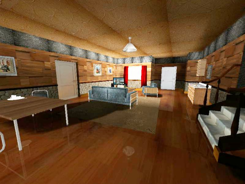 gta san andreas cj 39 s house new interior mod. Black Bedroom Furniture Sets. Home Design Ideas