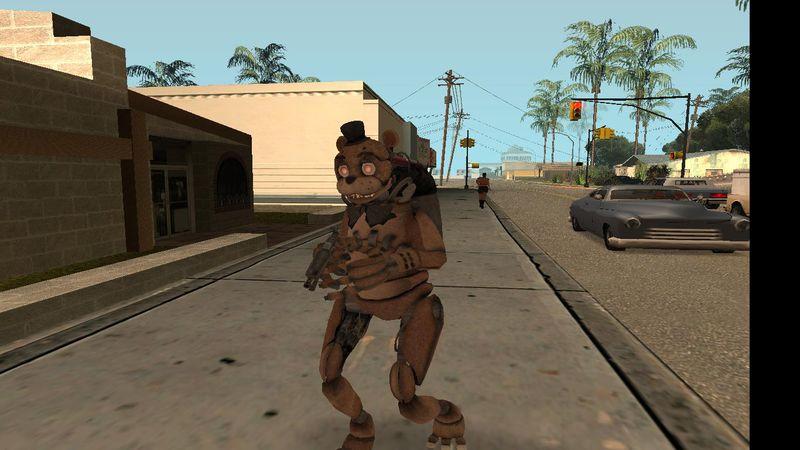 Gta san andreas drawkill fnaf animatronics mod gtainside com