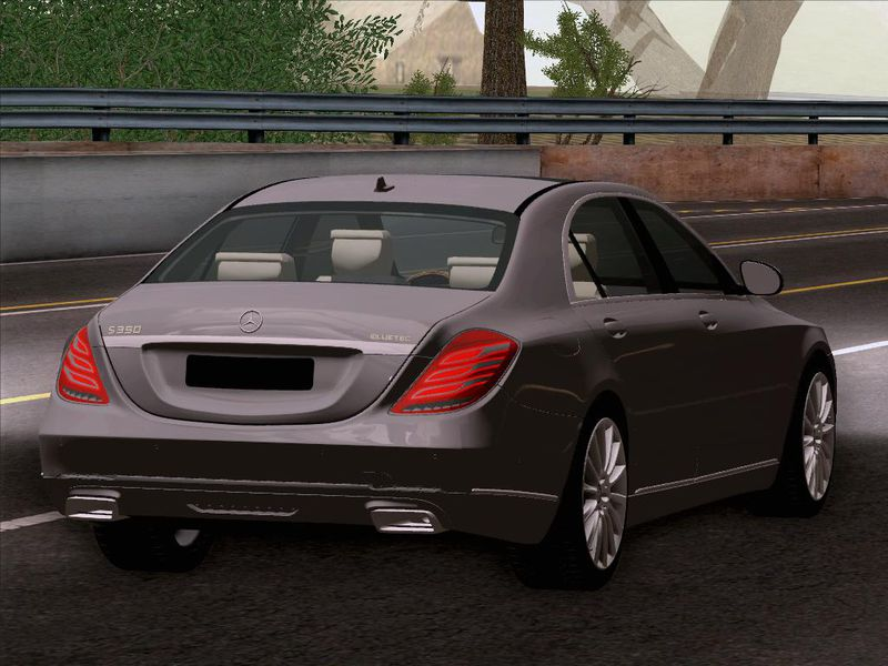 Gta san andreas 2014 mercedes benz s350 w222 mod for Mercedes benz s350 2014