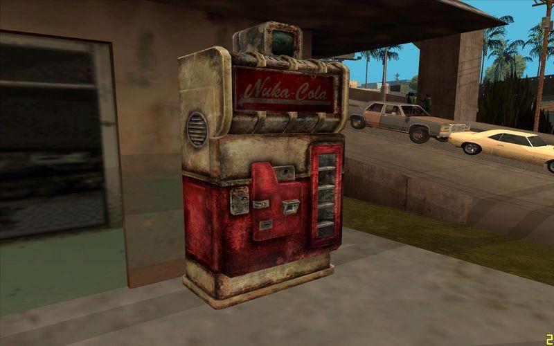 Gta San Andreas Fallout 3 Nuka Cola Machine Mod