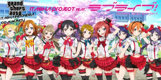 Love Live School Idol Itasha Project PACK