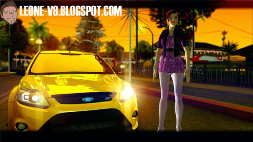 Lara Saints Row Style Skin