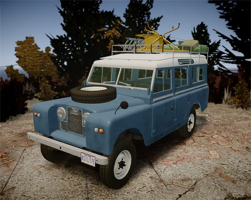 1960 Land Rover Series II 2.0