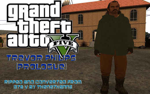 GTA V Prologue Trevor Philips