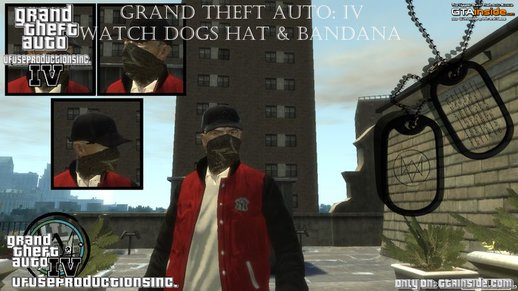Watch Dogs Hat & Bandana for Niko V1.0