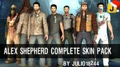 Alex Shepherd Skin Pack - Silent Hill Homecoming
