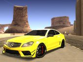2012 Mercedes-Benz C63 AMG Black Series