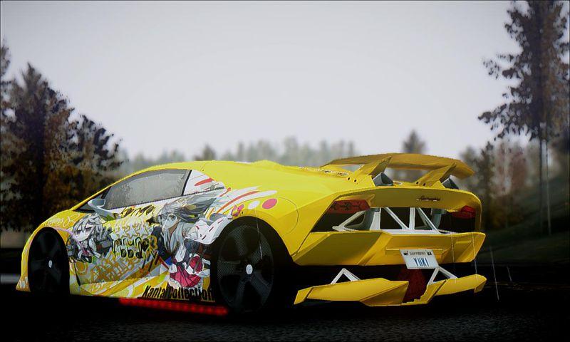 Gta San Andreas Lamborghini Sesto Elemento Haruna Fbb Kancolle Mod