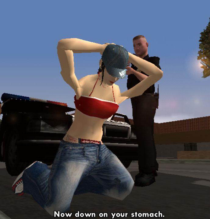 Grand theft auto san andreas porn games cheat