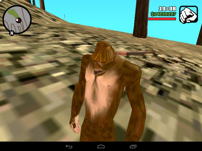 How to find bigfoot in gta san andreas without mods