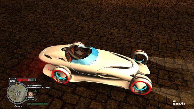 Gta San Andreas Mercedes Benz Silver Lightning Mod Gtainside Com
