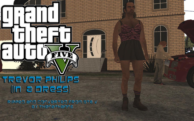 Gta V Trevor Philips In A Dress