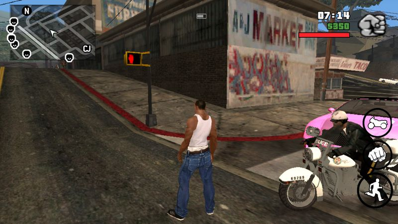 Grand theft auto san andreas #msi8store 1. 07 download apk for.