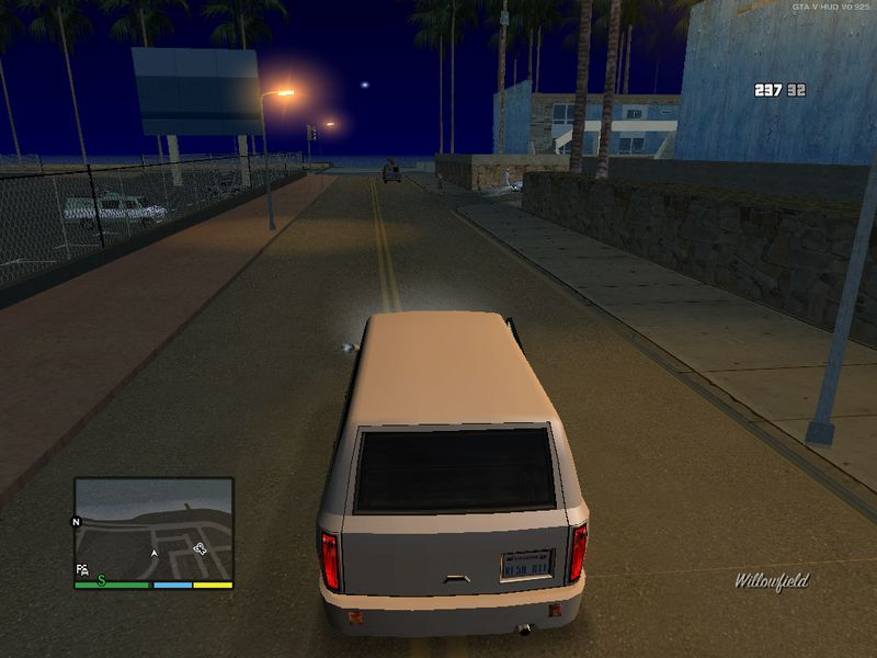gta san andreas hd remaster driving camera style mod. Black Bedroom Furniture Sets. Home Design Ideas