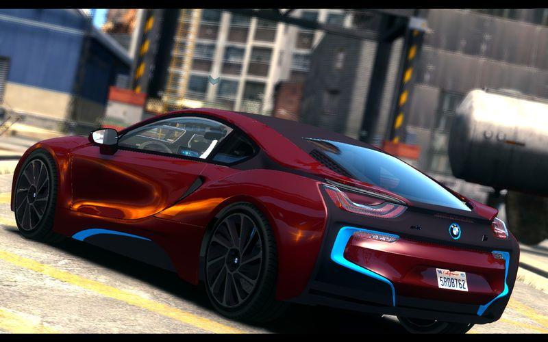 GTA BMW I Mod GTAinsidecom - 2013 bmw i8