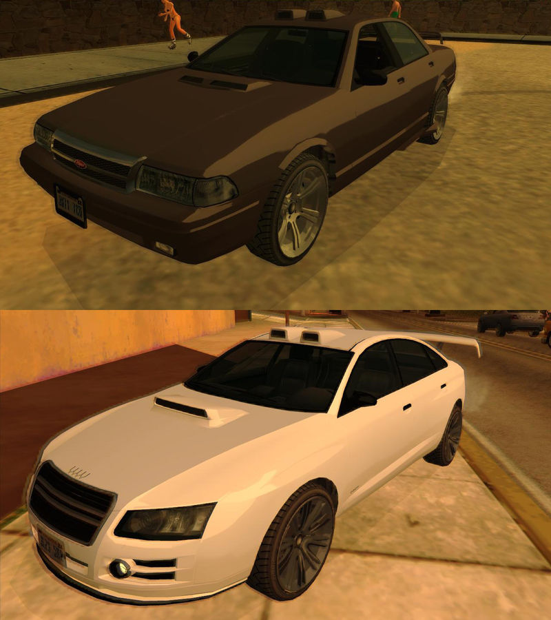GTA San Andreas GTA V Tuning Parts Mod