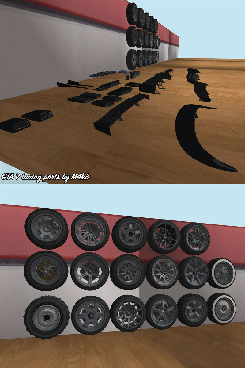 gta san andreas gta v tuning parts mod. Black Bedroom Furniture Sets. Home Design Ideas