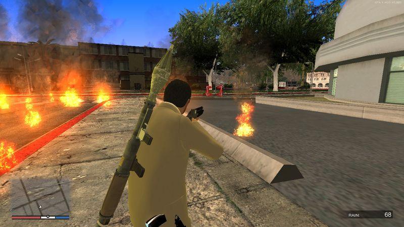 GTA San Andreas New Crosshair For GTA V Hud Mod - GTAinside com