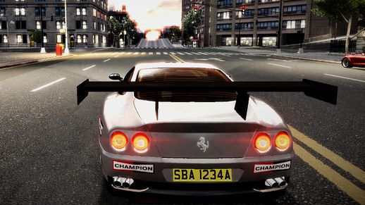 2002 Ferrari 575 Hamann Wheels + Sound