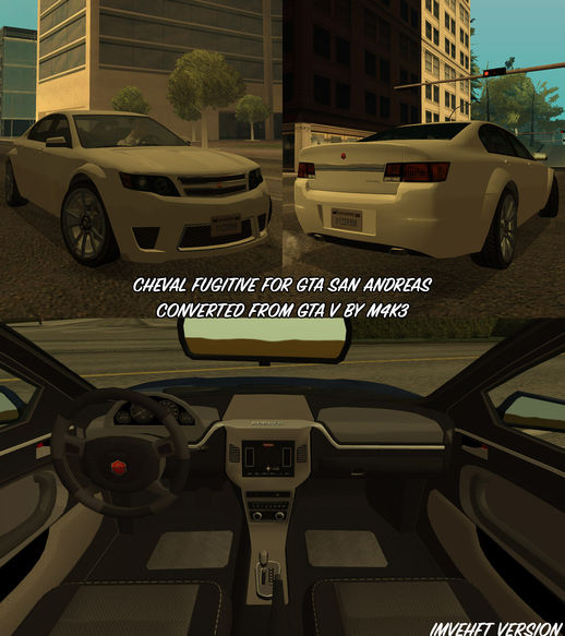 GTA V Cheval Fugitive updated