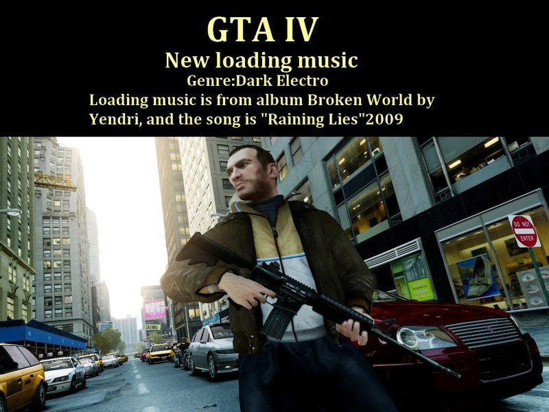 GTA 4 New Loading Music Mod - GTAinside.com