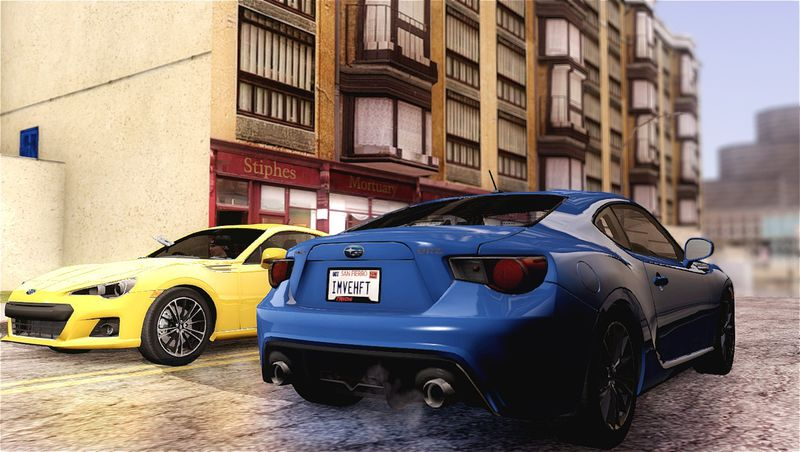 GTA San Andreas 2012 Subaru BRZ Mod - GTAinside com