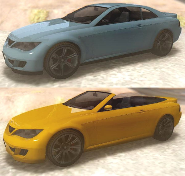 GTA San Andreas GTA V Ubermacht Zion XS & Cabrio Mod - GTAinside.com