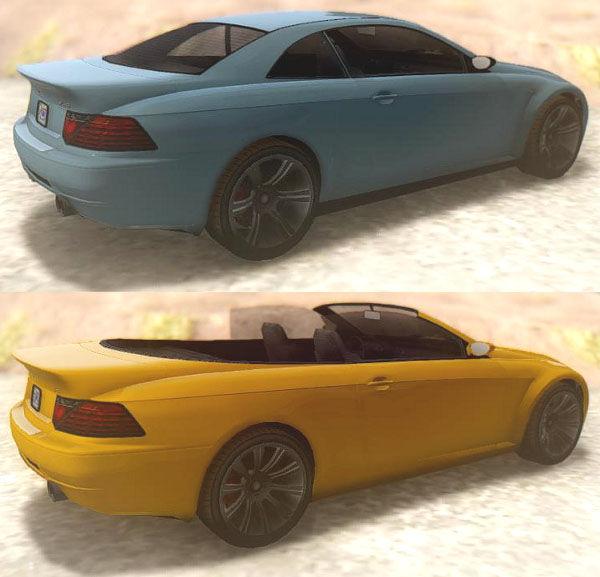 GTA San Andreas GTA V Ubermacht Zion XS & Cabrio Mod ... Ubermacht Zion Cabrio Gta 5