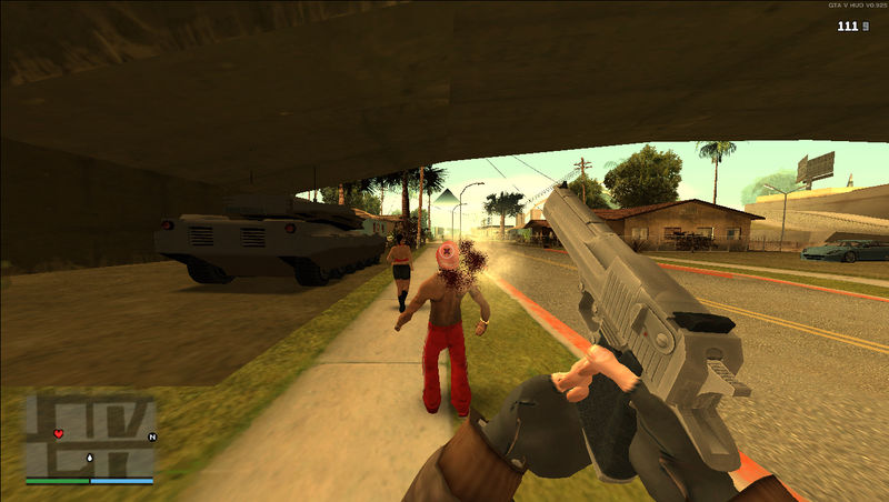 GTA San Andreas First-Person Mod FIX(not really) Mod - GTAinside com