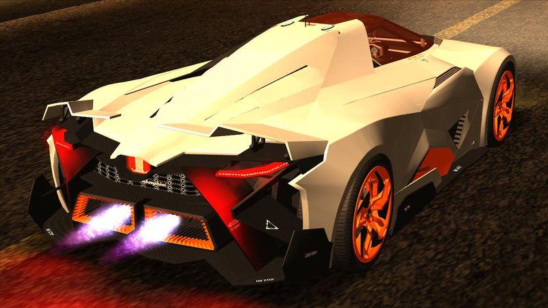 GTA San Andreas Lamborghini Egoista Mod - GTAinside.com