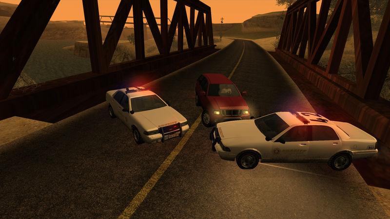 GTA San Andreas GTA V Vapid Stanier Sheriff Mod - GTAinside com