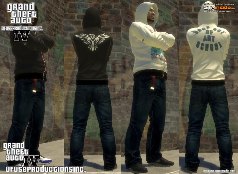 GTA 4 New Clothing Pack 2015 Mod - GTAinside com