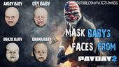 New Mask Baby´s Face For Trevol