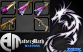 afterMATH Gold-Graffiti Weapons Pack