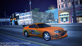 Toyota Supra Fast And Furious Paintjob