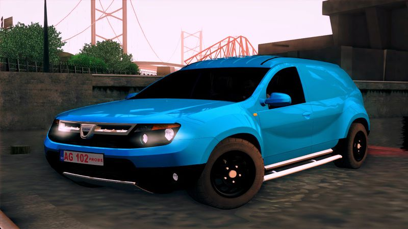 gta san andreas dacia duster van mod. Black Bedroom Furniture Sets. Home Design Ideas