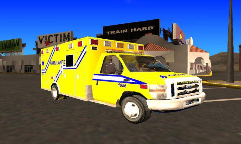 Ford F  Quebec Ambulance