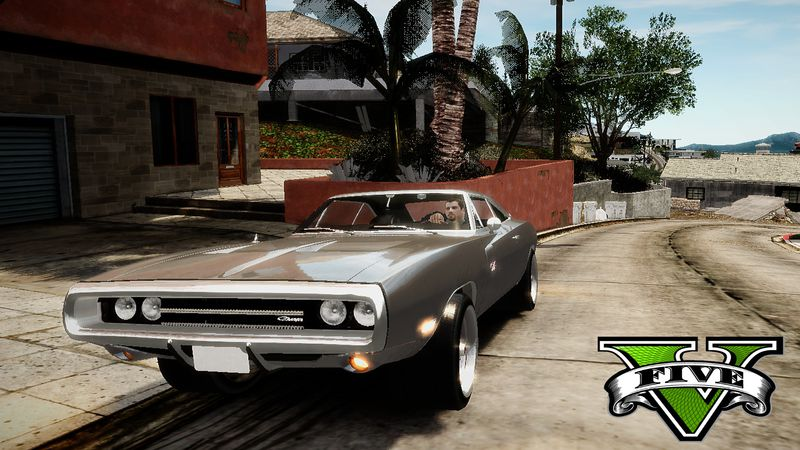 Gta 4 Fast And Furious 7 1970 Dodge Charger Movie Car Mod