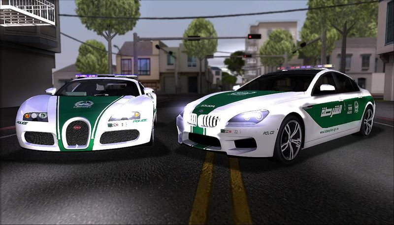 gta san andreas 2009 bugatti veyron 16 4 dubai police mod. Black Bedroom Furniture Sets. Home Design Ideas