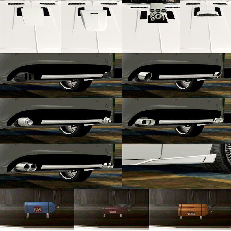 Gta San Andreas New Cars Pack Download