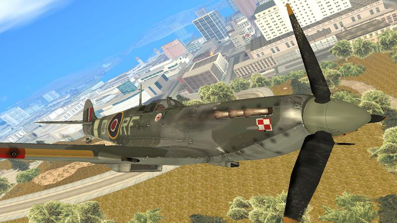 Supermarine Spitfire Skin for Rustler 1429299000_Spitfire