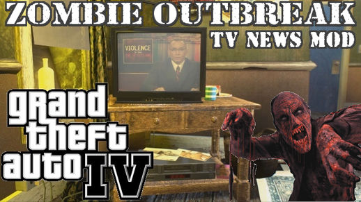 EMERGENCY NEWS: Zombie Outbreak TV MOD