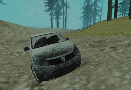 Dacia Sandero Dirty Version