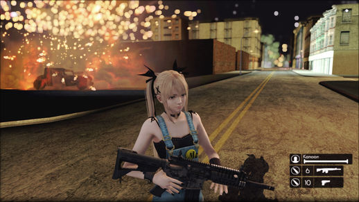 Sword Art Online II Addons for GTA V Hud