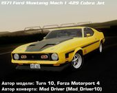 Ford Mustang Mach 1 429 Cobra Jet 1971