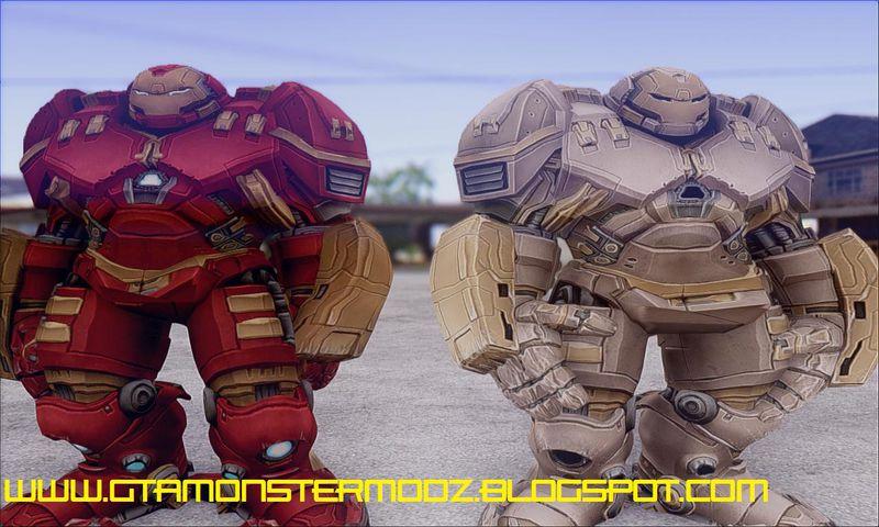 GTA San Andreas Hulkbuster Iron Man Mod - GTAinside com